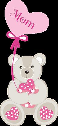 Mom Teddy Bear Clipart png