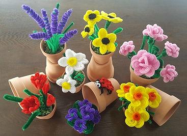 Pipe Cleaner Flower Garden