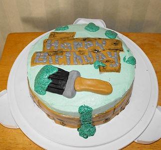 ⦁Construction Cake Fondant Paint Brush