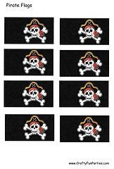 Pirate Flag Printable
