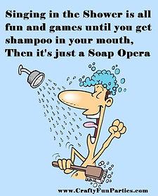 Singing In Shower Soap Opera Meme