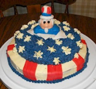 Uncle Sam Cake