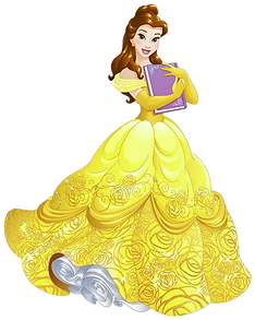 Belle Beauty and Beast Clipart