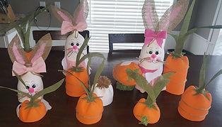 Pop Bottle Bunny Carrot Garden