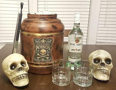 Rum Barrel Ice Bucket