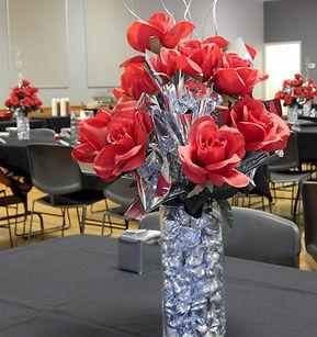 Roses and Kisses Arrangement