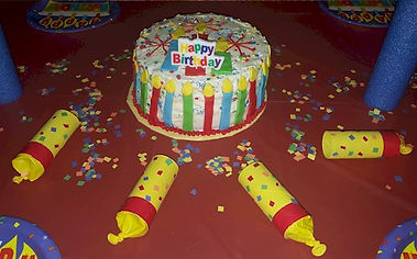 Candle Birthday Cake Confetti Shooters