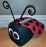 Lady Bug Valentine Holder 2