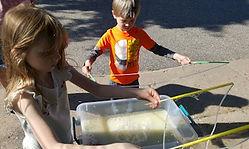 Straw Bubble Wand Kids