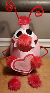 Love Bug Valentines Holder