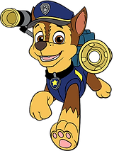 Paw Patrol Chase Clipart 3 png