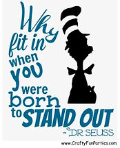 Why Fit In When Stand Out Meme