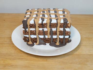 Fake Bake Layered Cake