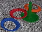 Paper Plate TP Rolls Ring Toss