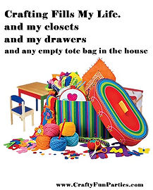 Crafting Fills My Life Meme