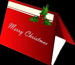 Christmas Card Clipart