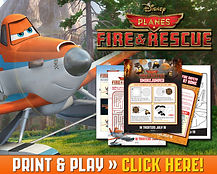 Planes Fire and Rescue  Print and Play