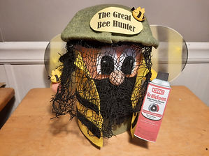 Bee Hunter Pop Bottle Craft