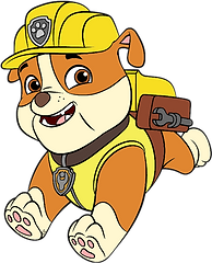 Paw Patrol Rubble Clipart 1 png