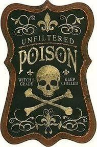 Pirate Poison Label