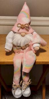 Gnome Rainbow PJs Blanket