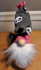Sock Hat Gnome Panda Print