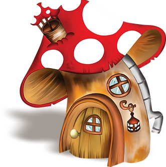 Gnome Mushroom House Clipart png