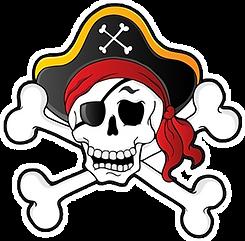 Skull Crossbones Clipart