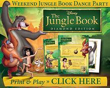 Junglebook Print and Play Activities