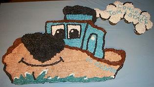 Cute Boat Cake