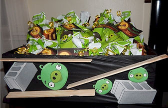 Angry Birds Prizes and Treat Bags