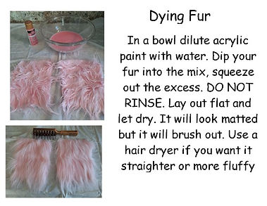 Dying Fur Instructions