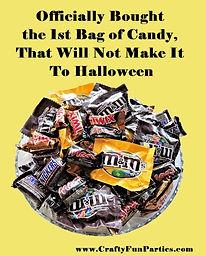 1st Bag Halloween Candy Meme