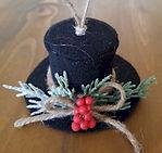 Top Hat Woodland Ornament