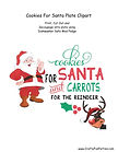 Cookies For Santa Plate Clipart