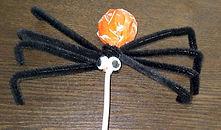 Spider Tootsie Pop