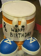 Rx Delivery Cake