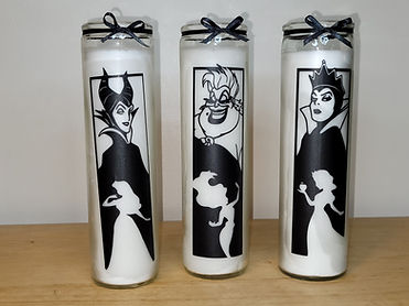 Disney Witches Candles