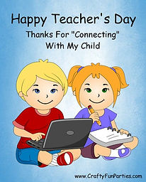 Connecting With My Child Teachers Day Meme
