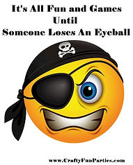 Fun Games Until Lose Eyeball Pirate Meme
