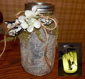 Fairy Candle Jar