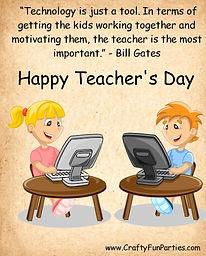 Technology Teachers Day Meme
