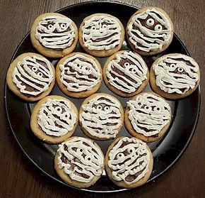 Mummies Cookies