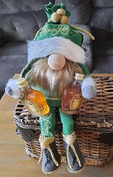 Crown Royal Gnome Green