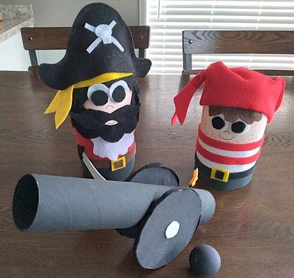 Pirate Pop Bottle Decorations