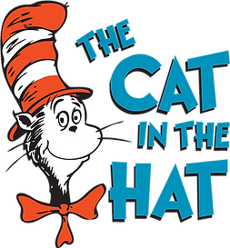 Cat In The Hat Logo Clipart
