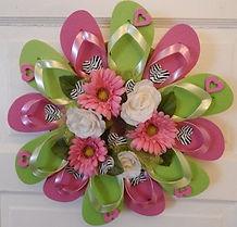Flip Flop Wreath 2