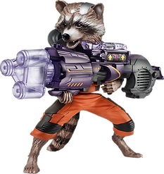 Guardian of The Galaxy Rocket png