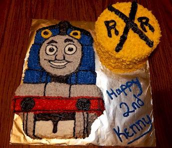 Thomas the Train Cake Wilton