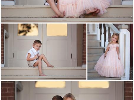 Athena & Bentley | Kingman Arizona Children's Photographer | Jo Lamsus Photography